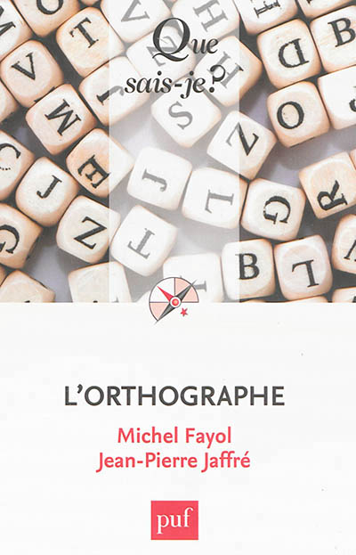 L'orthographe | 9782130628330 | Dictionnaires