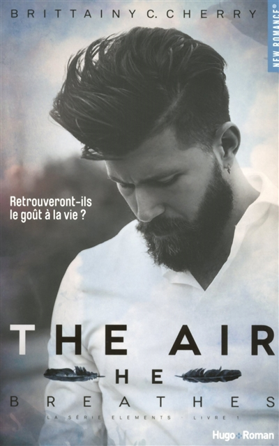Elements T.01 - The air he breathes | 9782755623826 | New Romance | Érotisme