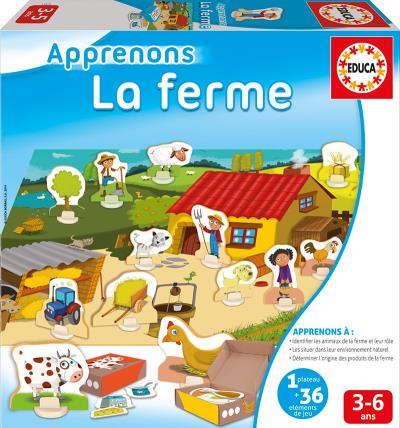 Apprenons - La ferme | Conscience phonologique