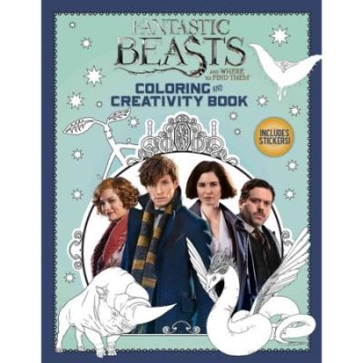 Fantastic Beast and Where to find Them : Coloring and Creativity Book | 9781338116809 | Bricolage et Passe-temps
