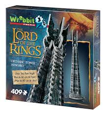 Casse-tête 3D Wrebbit - The Lord of the Rings - Orthanc Tower, Isengard | Casse-têtes