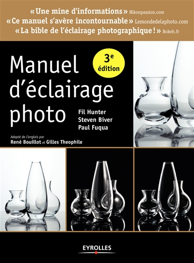 Manuel d'éclairage photo | 9782212143034 | Arts