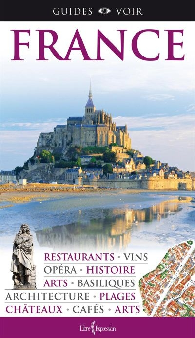 France - guide voir | 9782764808665 | Pays