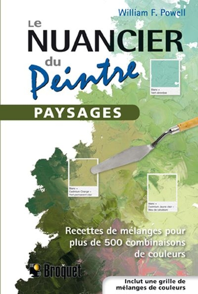Nuancier du Peintre (Le) | 9782896543311 | Arts