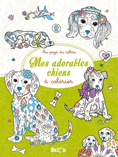Mes Adorables Chiens A Colorier 9789463076050 Mandala