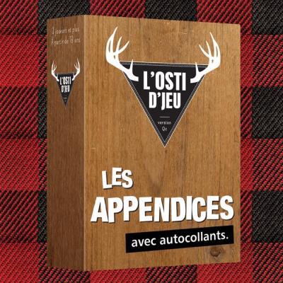 L'osti d'jeu - Extension Les Appendices | Extension