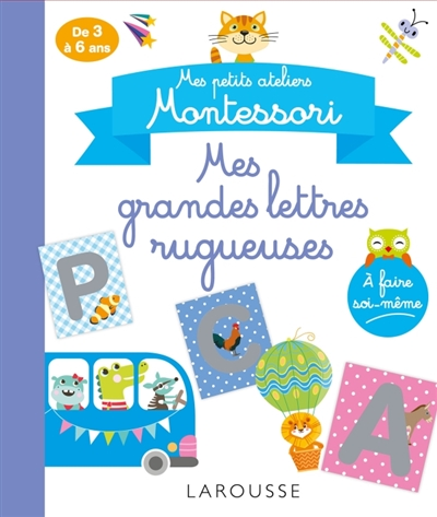 Mes grandes lettres rugueuses | Conscience phonologique