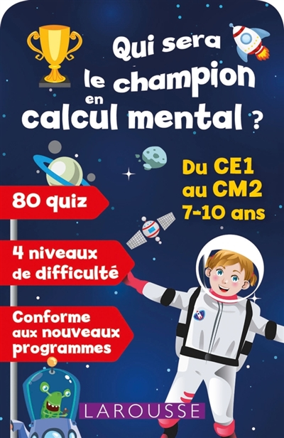 Cartes - Qui sera le champion en calcul mental ? | Mathématique