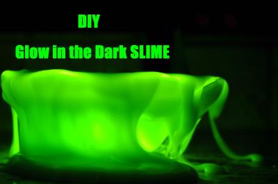 Slime DIY - Fluorescente (Glow in the Dark) | Bricolage divers