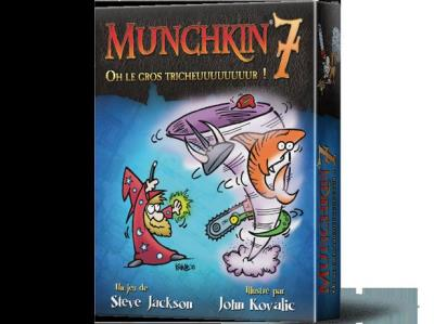 Munchkin 7 - Oh le gros tricheuuuuuuuur ! | Extension