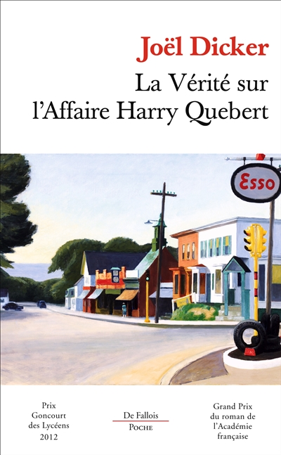 Vérité sur l'Affaire Harry Quebert (La) | 9782877068635 | Romans format poche