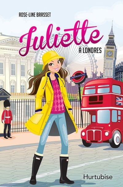Juliette à Londres  | 9782897811358 | Romans 9 à 11 ans