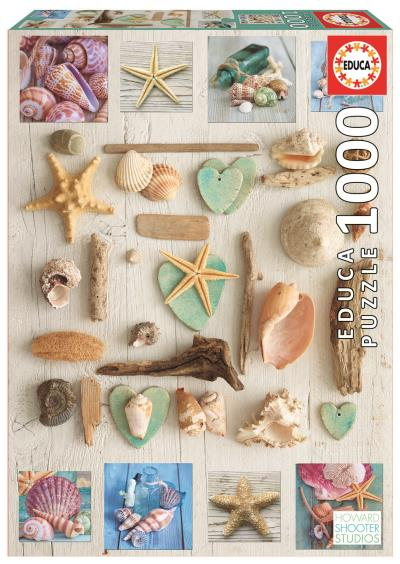 Casse-Tête 1000 - Collage de Coquillages (Seashells Collage) | Casse-têtes