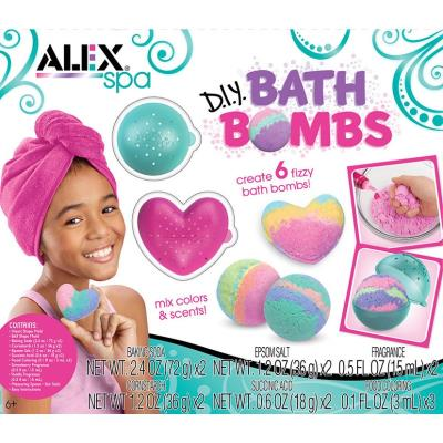 Alex Spa - D.I.Y. Fabrique Boules de Bain - (Bath Bombs) | Science et technologie