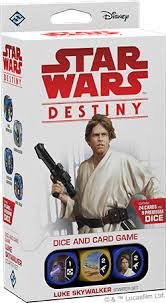 STAR WARS DESTINY: LUKE SKYWALKER STARTER SET (FR) | Jeux pour 2