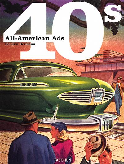 All-American ads 40s | 9783822814680 | Arts