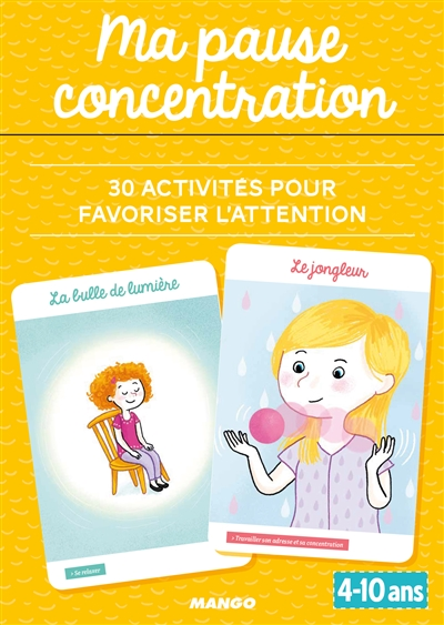 Ma pause concentration | 9782317012426 | Éducation
