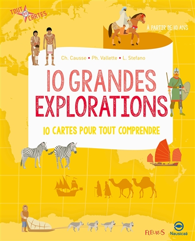 10 grandes explorations | 9782215137634 | Documentaires