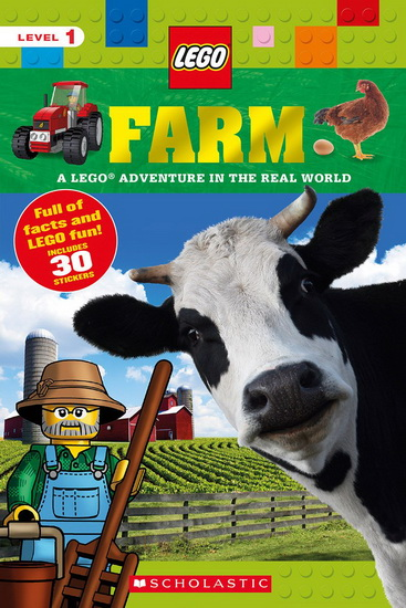 LEGO NONFICTION: FARM: A LEGO ADVENTURE IN THE REAL WORLD | Jeunesse