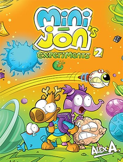Mini-Jon's experiments T.02 | Picture books