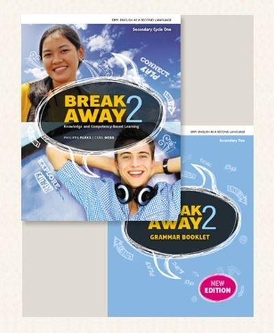 Break Away 2 activity book + grammar booklet - 2e secondaire n. éd. | 9782761380508 | Cahier d'apprentissage - Secondaire 2