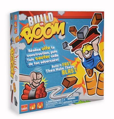 Jeu Build or Boom bilingue | Enfants 5–9 ans