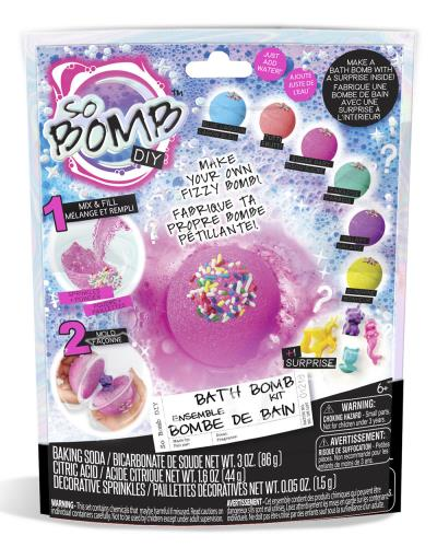 So Bombe DIY - Sac surprise Bombe de bain | Enfants 5–9 ans