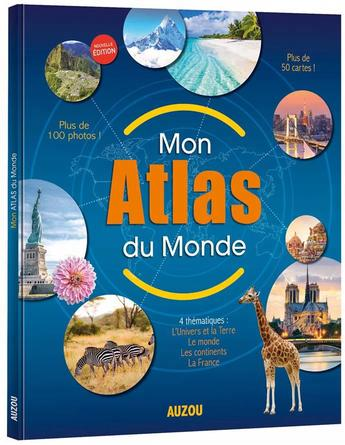 Mon atlas du monde | 9782733858875 | Documentaires