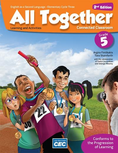 All together Learning and Activities Book, 2nd Ed.- 5e année | 9782761795029 | Cahier d'apprentissage - 5e année