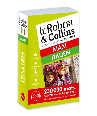 Robert & Collins italien maxi (Le) | 9782321008484 | Dictionnaires