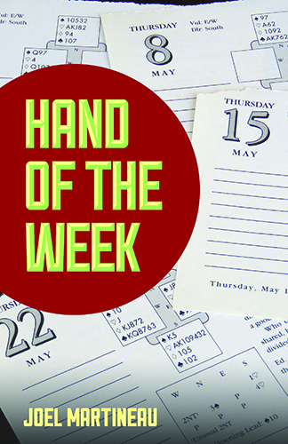 Hand of the week | Livre anglophone