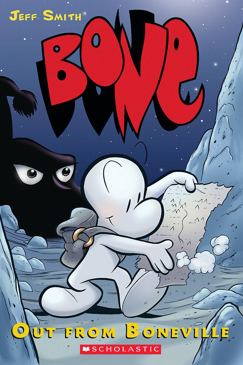 Bone T.01 - Out from Boneville | 9780439706407 | Bande dessinée