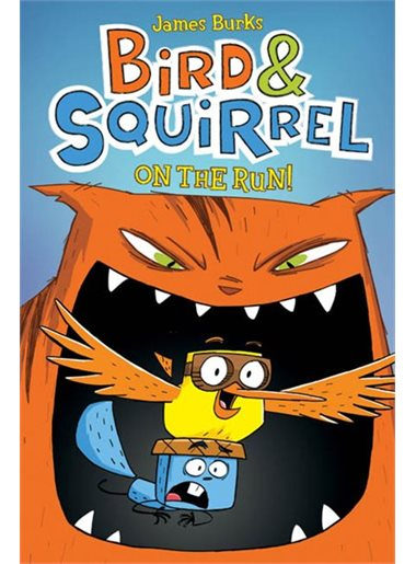 Bird and Squirrel on the Run | 9780545312837 | Bande dessinée
