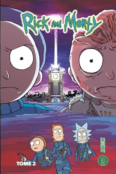 Rick and Morty T.02 | 9782378870591 | BD adulte