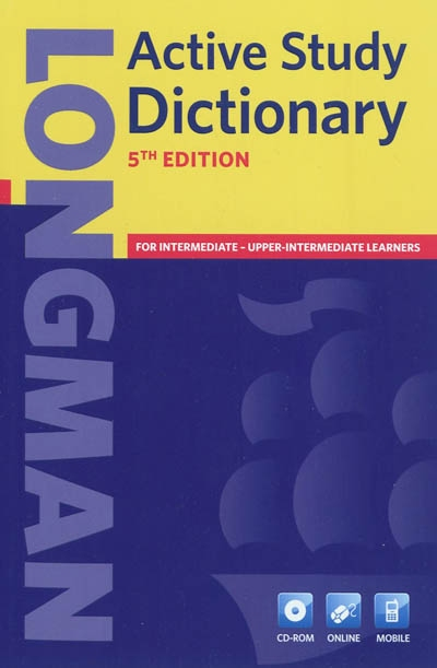 Longman active study dictionary | 9781408232361 | Dictionnaires