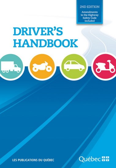 Driver's handbook - VERSION 2018 | 9782551262465 | Transports