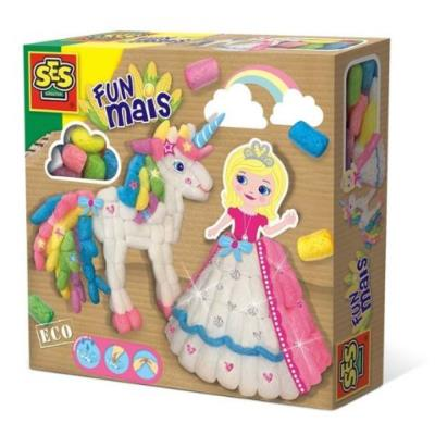 Fun Mais - Princesse et Licorne en Funmais  | Construction