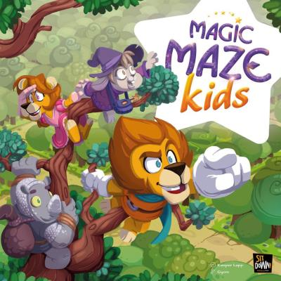 Magic Maze - Kids | Enfants 5–9 ans