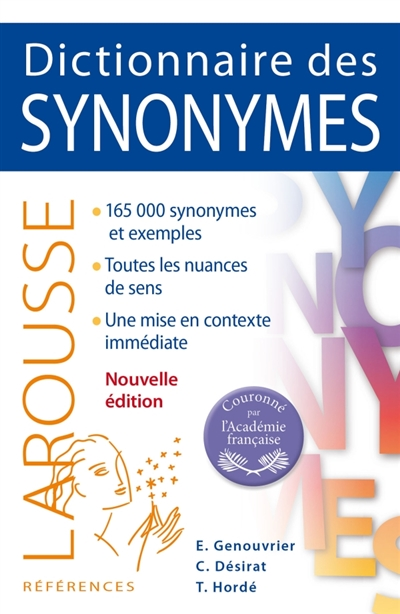 Dictionnaire des synonymes | 9782035950475 | Dictionnaires