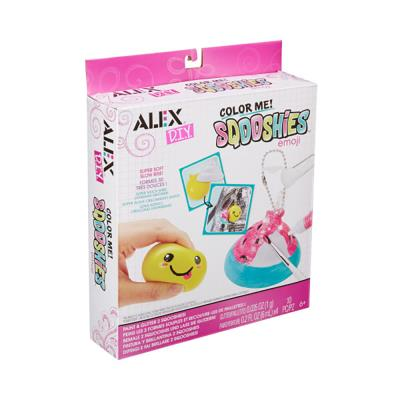 Alex DIY - Color me Sqooshies - Emoji | Bricolage divers