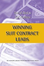 Winning suit contract leads | Livre anglophone