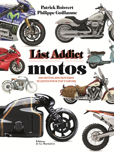 List addict motos | 9782732482477 | Transports