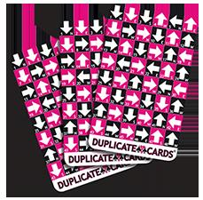 Cartes Duplicata (Ensemble de 3 ponts) | Cartes
