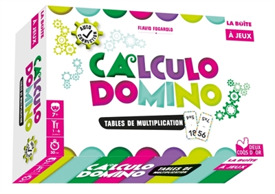 Calculo domino - Tables de multiplication | Mathématique