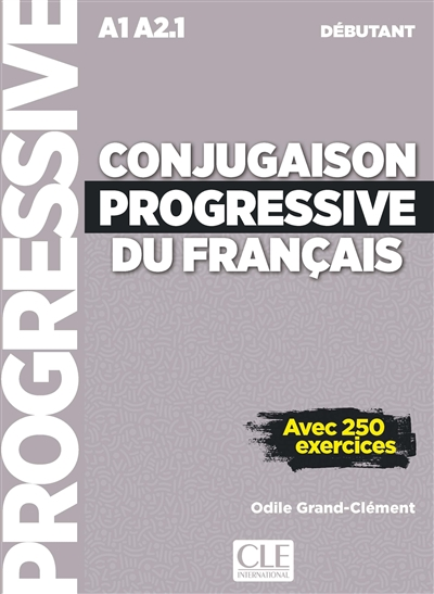 Conjugaison progressive du français + CD AUDIO | 9782090384437 | Dictionnaires