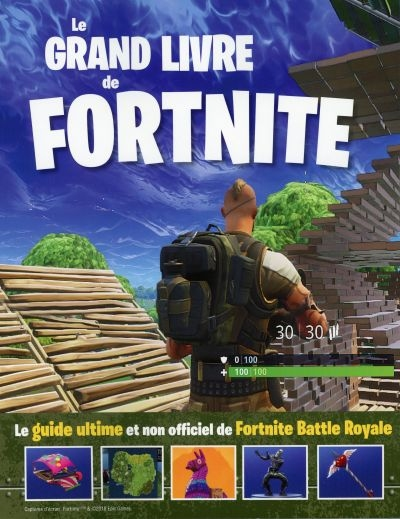 Le grand livre de Fortnite  | 9782898020421 | Informatique