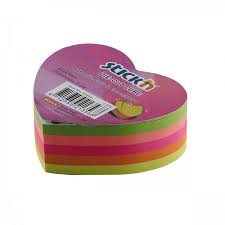 Post-it cube Coeur 250 feuilles | Papier,cahiers, tablettes, factures, post-it