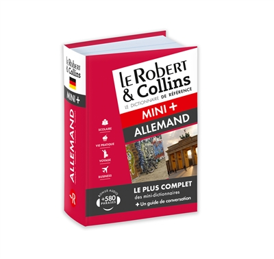 Robert & Collins allemand mini + (Le) | 9782321008361 | Dictionnaires
