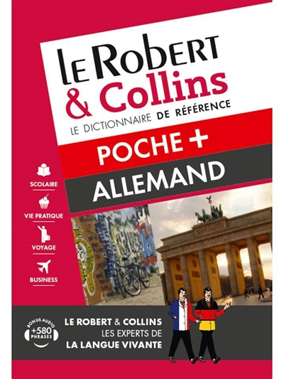 Robert & Collins allemand poche + (Le) | 9782321008446 | Dictionnaires