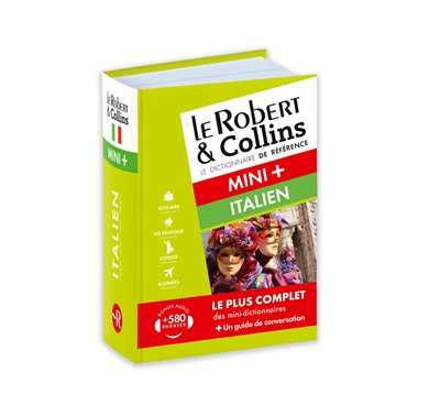 Robert & Collins italien mini + (Le) | 9782321008378 | Dictionnaires